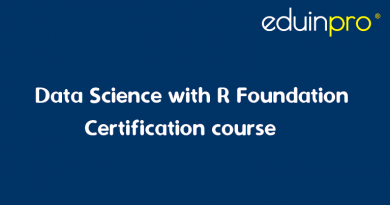 Data Science with R Foundation Certification   EduInPro